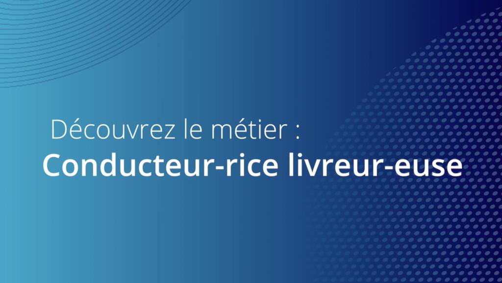 Conducteur-rice livreur-euse